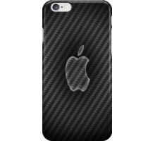 Carbon fibre apple case iPhone Case/Skin
