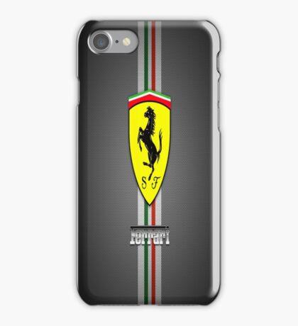 Ferrari Carbon fibre case iPhone Case/Skin