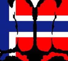 Norwegian Fists Sticker