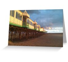 Sea side personified Greeting Card