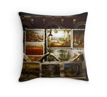 Night Art Throw Pillow