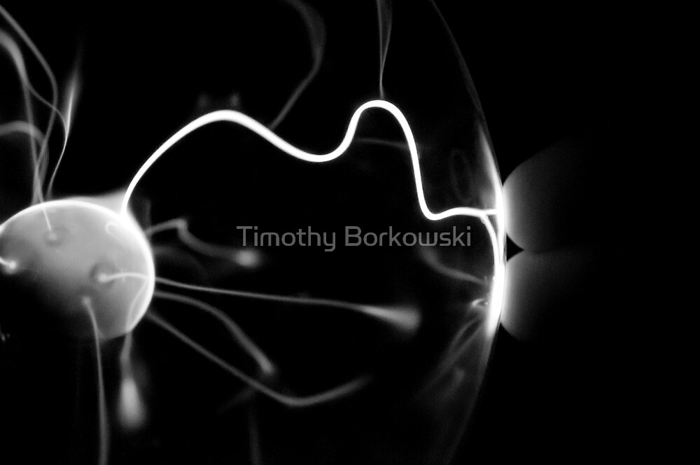 Plasma Ball by Timothy Borkowski