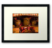 Fireplace Framed Print