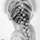 Braid Of Hair by Michele Filoscia