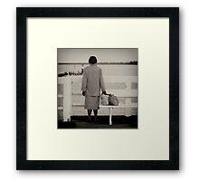 I miss U Framed Print