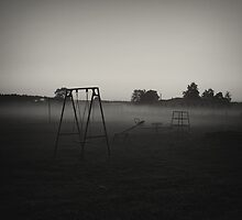 Haunted Playground  by annapozarycka