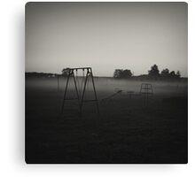 Haunted Playground  Canvas Print