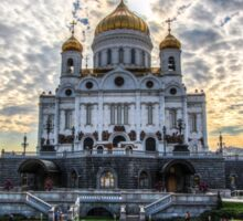Russian Orthodox Cathedral Sticker