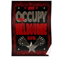 Occupy Melborne  occupy wall street poster Poster