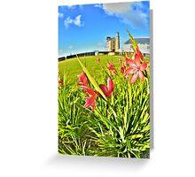 Mine flowers Greeting Card