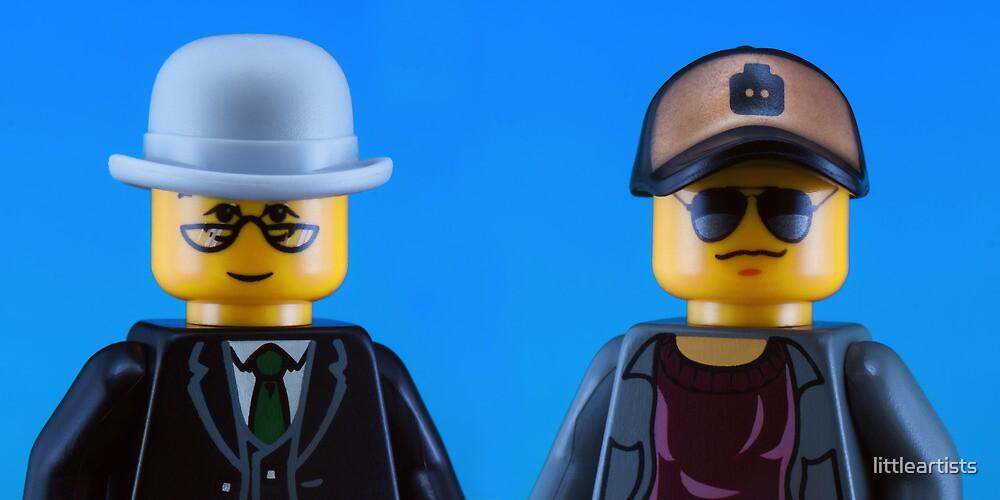 Pet Shop Boys by littleartists
