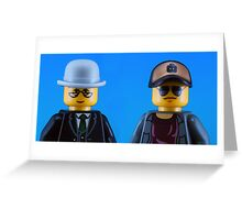 Pet Shop Boys Greeting Card
