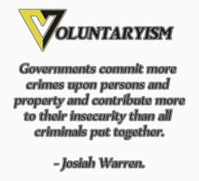 Voluntaryism - Josiah Warren by djdna