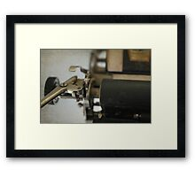 Sorry.....you're just not my type Framed Print