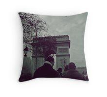 Arche De Triomphe #3 Throw Pillow