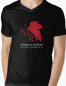 B20 Technical Support chest option Mens V-Neck T-Shirt