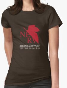 B20 Technical Support chest option Womens Fitted T-Shirt