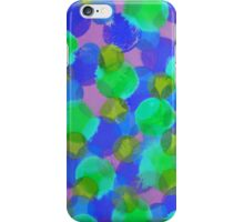 Bleeding Tissue Paper Circles - Underwater iPhone Case/Skin