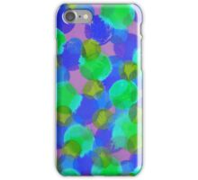 Bleeding Tissue Paper Circles - Underwater iPhone Case/Skin