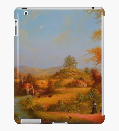 A View To The Hill. iPad Case/Skin