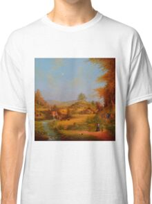 A View To The Hill. Classic T-Shirt