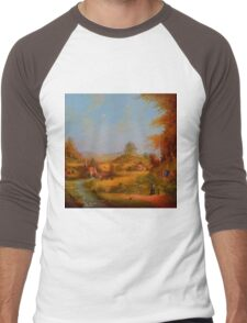 A View To The Hill. Men's Baseball ¾ T-Shirt