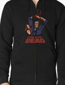The Evil Dead Zipped Hoodie