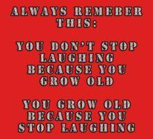 Good Old Saying Kids Tee