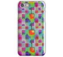 Bleeding Tissue paper Plaid - Squares iPhone Case/Skin