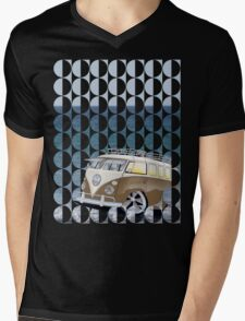 Splitty Geo Mens V-Neck T-Shirt