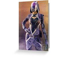 Mass Effect Tali Greeting Card