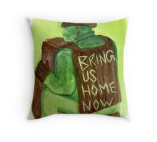 Bring us Home Throw Pillow