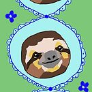 Friendly Sloths. by squeaky-design