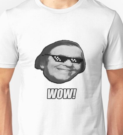 Wally Wow! The MLG Meme Wow Guy. Unisex T-Shirt