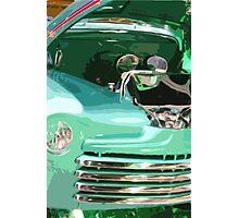 Green Rod Truck Photographic Print