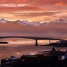 Skye Bridge at Sunset, Winter. Isle of Skye. Scotland. by PhotosEcosse