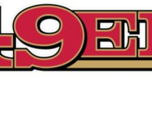 San Francisco 49er Faithful Sticker