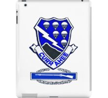 Currahee Patch - 101st Airborne w/CIB -  iPad Case iPad Case/Skin