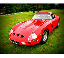 Enzo's Little Red 250 GT Photographic Print