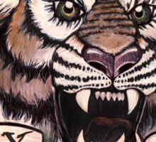 Take it Easy Tiger Sticker