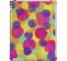 Bleeding Tissue Paper Circles iPad Case/Skin