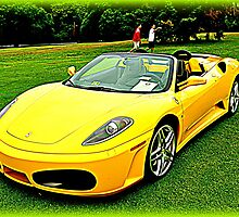 Yellow Horse! F430 by BLAKSTEEL