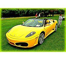 Yellow Horse! F430 Photographic Print