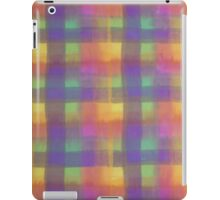 Bleeding Tissue Paper Plaid iPad Case/Skin