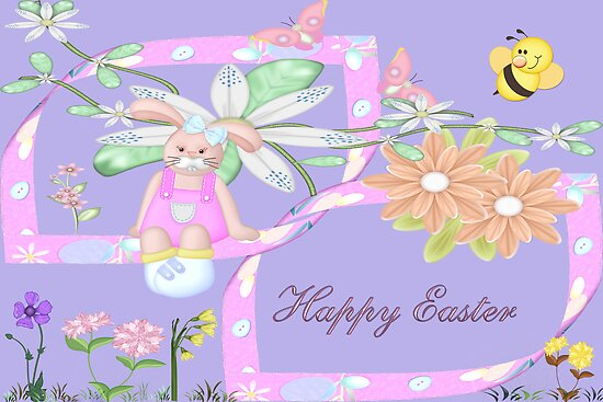 Happy Easter  by Vickie Emms