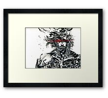 Raiden from metal gear solid (2) Framed Print