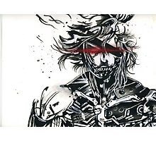 Raiden from metal gear solid (2) Photographic Print