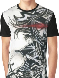 Raiden from metal gear solid (2) Graphic T-Shirt