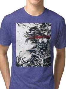 Raiden from metal gear solid (2) Tri-blend T-Shirt