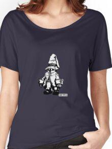 Just Vivi - Monochrome Lrg Women's Relaxed Fit T-Shirt